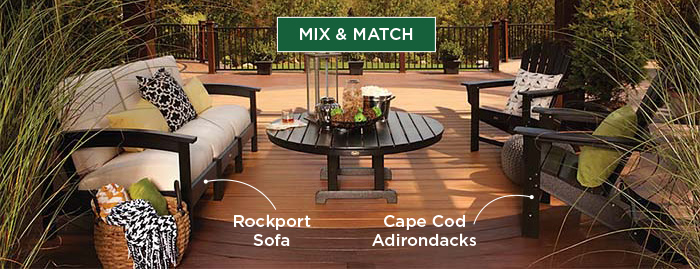 Mix Match Trex Outdoor Furniture Styles
