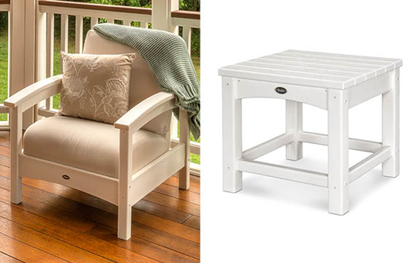 Rockport Chair and Side Table