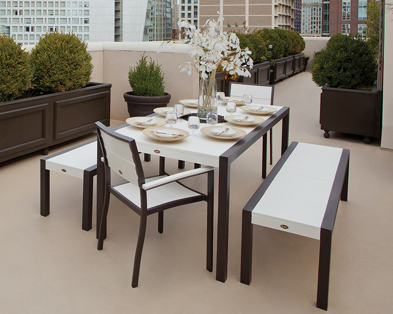Modern Clean Dining Set Trex