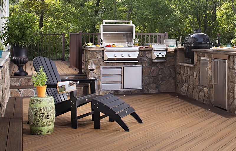 How To Safely Grill On Your Outdoor Deck Trex Furniture