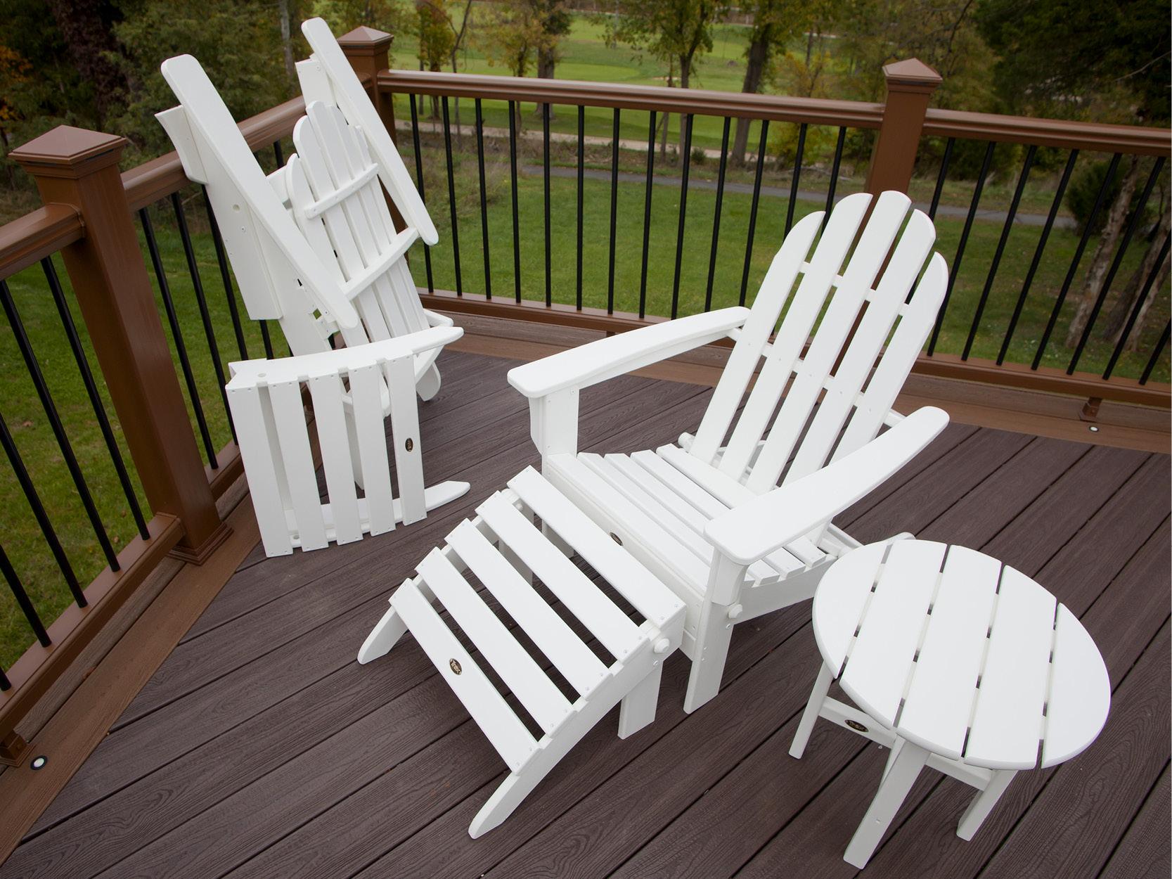 Cape Cod 2-Piece Folding Adirondack Seating Set