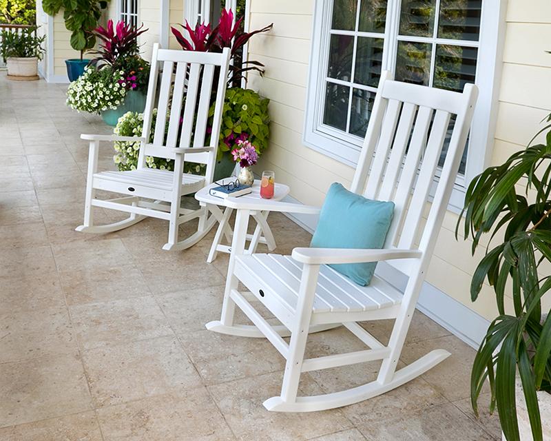3-Piece Rocking Chair Set
